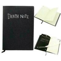 Death Note Cosplay Notizbuch mit Federstift Buch Anime Journ Writ Theme B7P8