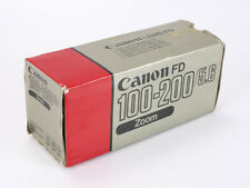 BOX ONLY FOR A 100-200/5.6 CANON FD-N, WITH FOAM PACKING/206421