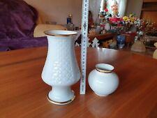 Marken Porzellan zwei Vasen Plankenhammer  Floss, Bareuther