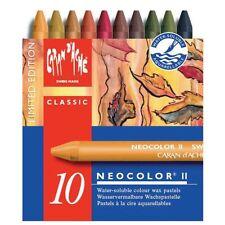 CARAN d'ache Neocolor II di stagno 10 pastelli a cera solubili in acqua-Autunno SPECIALE ED