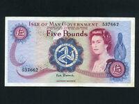 Isle of Man:P-30a,5 Pounds,1972 * Queen Elizabeth II * VF-EF *