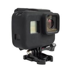 For Gopro Hero 5 Camera Border Frame Silicone Soft Protective Case Cover Nero RI