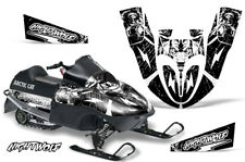 Arctic Cat Sno Pro 120 Sled Wrap Snowmobile Decal Graphics Kit 09-13 NIGHTWOLF W
