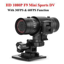 Helmet Camera Waterproof HD F9 Sport Action Car Camera Mini DVR Video recorder
