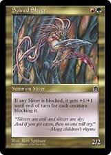SPINED SLIVER Stronghold MTG Gold Creature — Sliver Unc