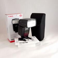 Canon Speedlite 580 EX II Digital Flash *BOXED GOOD CONDITION* | CANON UK DEALER