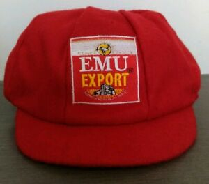 Emu Export Beer Baggy Cricket style Cap One size Fits All
