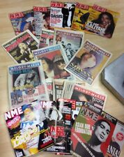NME and MELODY MAKER Magazine Bundle Job Lot. 40 Pieces. 1980's to 2000's Mags.