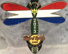 Hard Rock Cafe ROME 2013 DRAGONFLY GUITAR Series PIN - HOLLAND LE 300 HRC #73234