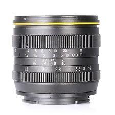 Kamlan 50mm F1.1 APS-C Large Aperture Manual Focus Lens for Fuji X Mount
