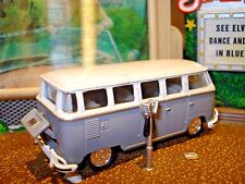 1960 MICROBUS VW WINDOW VAN LIMITED EDITION DELUXE VOLKSWAGON 1/64 M2