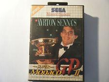 Ayrton Senna's Super Monaco GP 2 - Sega Master System - Sans Notice - Occasion