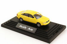 1:87 Audi A6 C5 jaune jaune - Dealer-Edition OEM - Wiking 132255