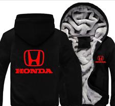 Honda Automobile Mens Reißverschluss Jacke Mantel Winter Beiläufig Warm jacket