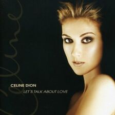 Let's Talk About Love - Celine Dion CD Columbia