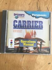 CARRIER FORTRESS AT SEA (Panasonic 3DO) Complete With Original Case And Manual