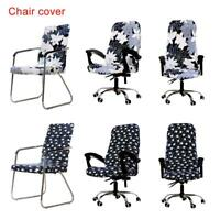 Chair Cover Spandex Armchair Seat Task Slipcover Office Computer Elastic Office