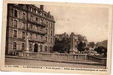 CPA  La Bourboule - Pont de parc - Hotel des Iles-Baitenniques et casino(220483)