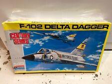 Monogram 1/48 Model Airplane Kit F-102 Delta Dagger 5827 SEALED