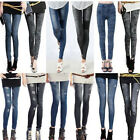 Fashion Womens Denim Jeans Sexy Skinny Leggings Jeggings Stretch Pants Trousers