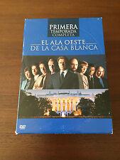 EL ALA OESTE DE LA CASA BLANCA - TEMP 1 COMPLETA - 6 DVD + 1DVD EXTRA - 924 MIN