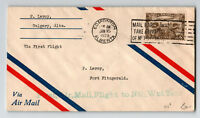 Canada 1929 FFC Edmonton to Forst Fitzgerald (Can-515a)  - Z12941