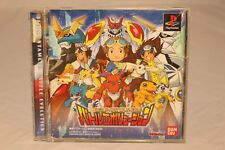 Digimon Rumble Arena SONY Playstation one PS1 2 PSX NTSC-J