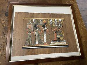 Quadri Con Papiro Egiziano Originale