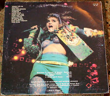 """MADONNA VIRGIN TOUR LIVE LP LIMITED 2 x 12"""" VINYL MADE IN UK Material Dress You"""