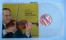 """SAX 2315 David fëdorovič ojstrach-BEETHOVEN CONCERTO PER VIOLINO 12"""" LP 1959 NM/In buonissima condizione +"""