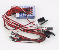 NEW 12 LED Simulation Flashing Light System Wire for RC Car 1/10 HSP Tamiya etc