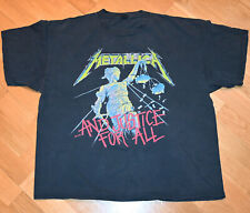 *1994 METALLICA* vintage rock concert tour tee t-shirt (XL) 80's 90's Metal Band