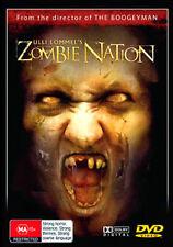 Ulli Lommel's ZOMBIE NATION - LIVING DEAD ZOMBIES REVENGE KILLING HORROR DVD