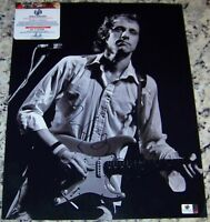 BLOWOUT SALE! Mark Knopfler DIRE STRAITS Signed Auto 11x14 Photo GAI GA GV COA*