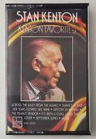 STAN KENTON KENTON Cassette FAVORITES 1984 Capitol Records Tape