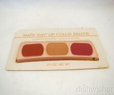Mary Kay 0504 GLAMOUR ADVENTURE WARM Lip Color Palette Pomegranate+2 NEW VTG