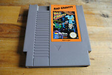 Jeu RAD GRAVITY pour Nintendo NES