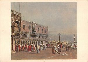 BG35650 die piazzetta in venedig francesco guardi wien austria postcard