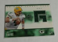 R20,275 - BRETT FAVRE - 2003 UPPER DECK - GAME USED JERSEY - PACKERS -