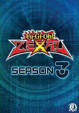 YU-GI-OH ZEXAL SEASON 3 New Sealed 6 DVD Set