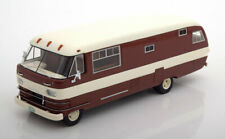 Dodge Travco Brown White 1963 Roof Neo 46308 1/43 USA Camping car resine Model