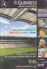 GAA 2007 Clare v Limerick & Waterford v Cork - All-Ireland Hurling Q-F