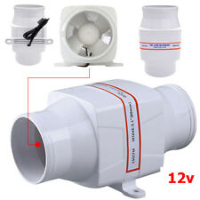 New Marine Boat DC12V 3Inch Electric in Line Bilge Air Blower Ventilation Fan