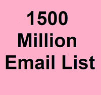 1500 Million Email List for Marketing and Business - Instant Download