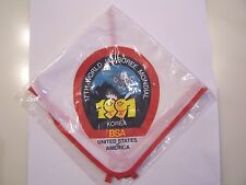 1991 World Jamboree BSA Contingent Neckerchief
