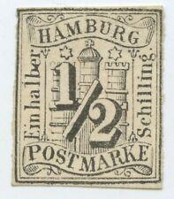Germany Hamburg 1/2 Schilling