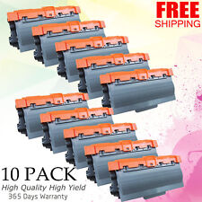 10PK TN780 Toner Cartridge Set For Brother MFC-8510DN,MFC-8710DW,MFC-8910DW