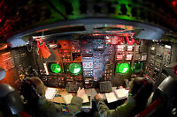 8x12 Photo the lower deck of a B-52 Stratofortress at Minot Air Force Base, N.D.