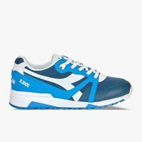 Diadora N9000 ARROWHEAD sneakers uomo leggere da passeggio Blu logo bianco