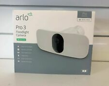 Arlo Pro 3 Wire-Free Weatherproof Flood Light Camera Security Camera